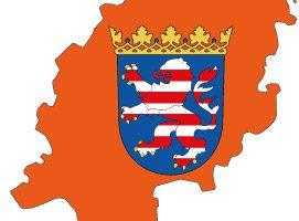 hessen-bundesland-karteumriss
